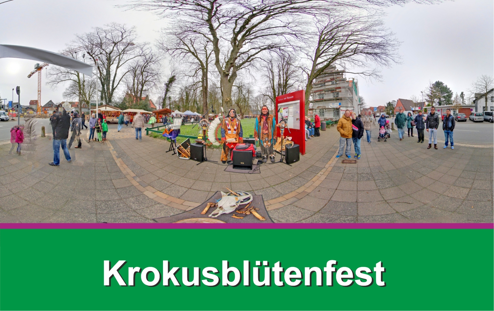 Krokusblütenfest Husum